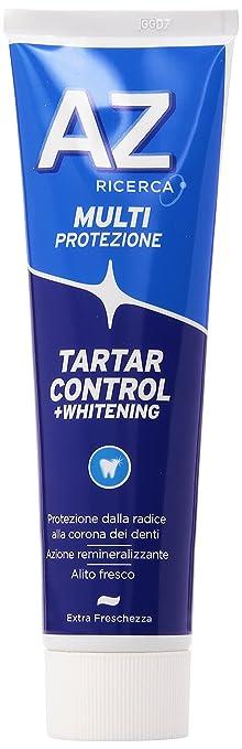 19 opinioni per Az Ricerca- Dentifricio Tartar Control + Whitening, Multiprotezione -75+25Ml