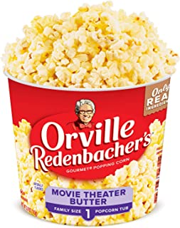 product image for Orville Redenbacher's Movie Theater Butter Popcorn Tub, 3.9 Ounce, Pack of 12