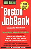 The Boston Jobbank 2001, Adams Media Corporation Staff, 1580624324