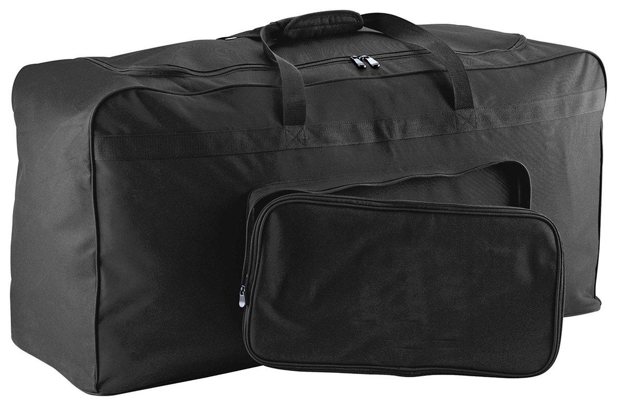 Augusta Sportswear Large機器バッグ B00IWLOT8S ブラック One Size