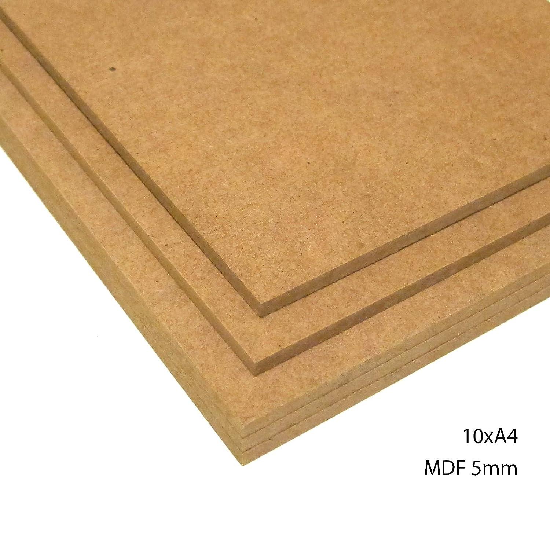 Pannelli di legno MDF puoi scegliere la Taglia Qualit/à professionale. 5mm di Spessore. Carpinter/ía Bar/ús A2 2 pannelli Made in Spagna