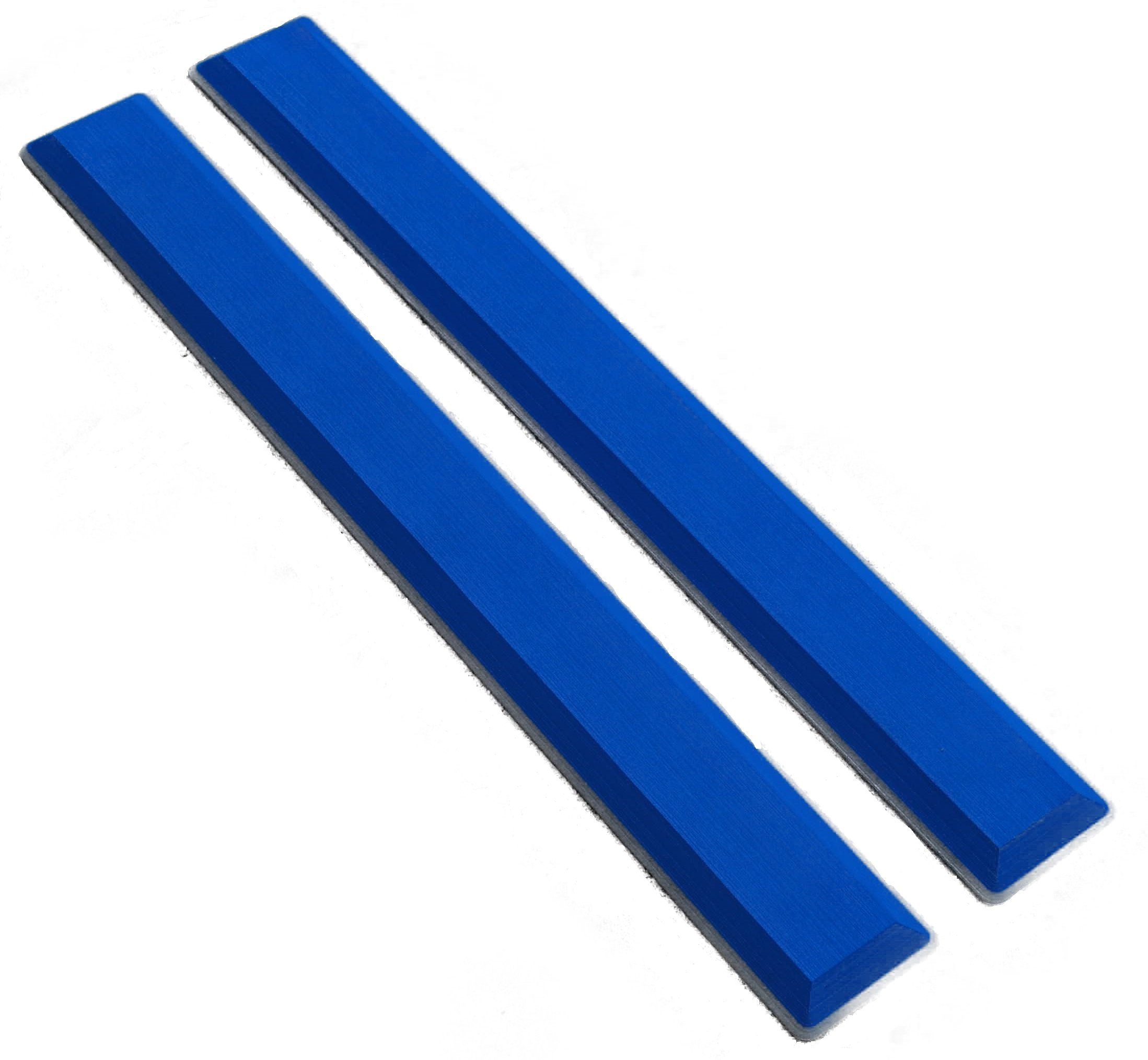 Marine Mat Coaming Bolster Set (21mm Thick) by (Aegean Blue Over Black) by Marine Mat