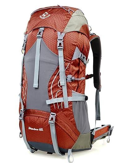 mochilas montaña hombros 50l60l70l alpinismo de los hombres y las mujeres a prueba de agua al ...