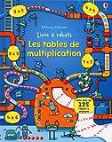 Les tables de multiplication : Livre à rabats