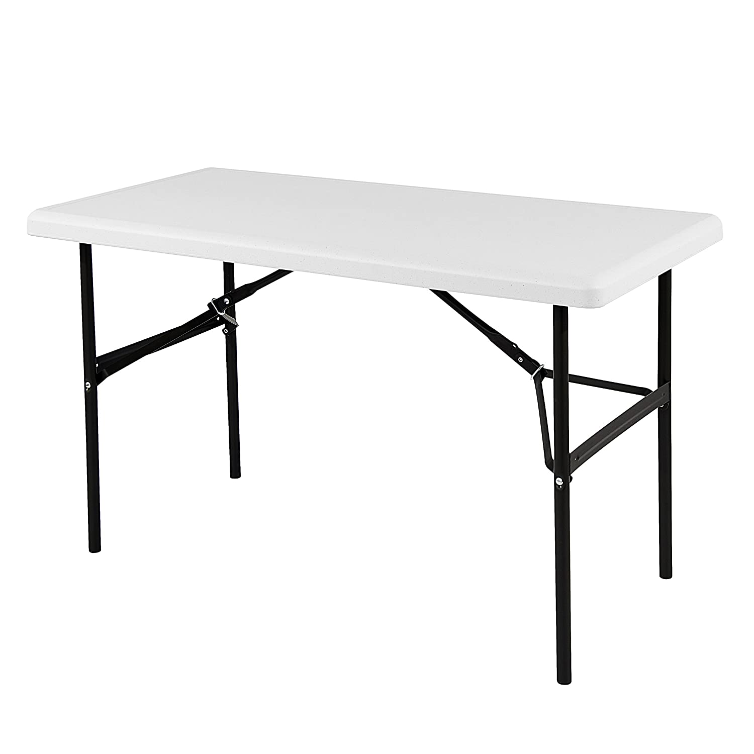 Iceberg 24 x 48 Folding Table, Platinum, IndestrucTable TOO 1200 Series MADE IN USA