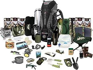 Prep Store Ultimate - Emergency Survival Pack - 72 Hr. Food Supply - Survival Kit - Bugout Bag - Hurricane Emergency Kit - Survival Bag - Bug Out Bag (Ultimate KIT)