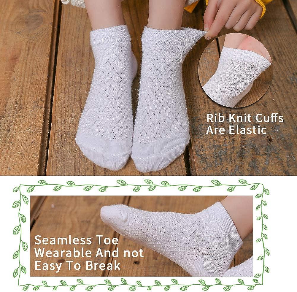 5PCS New Summer Boneless Seamless Cotton Children/'s Socks