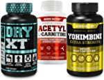 Dry-XT Water Weight Loss Diuretic Pills, Acetyl L Carnitine Supplement, Yohimbine
