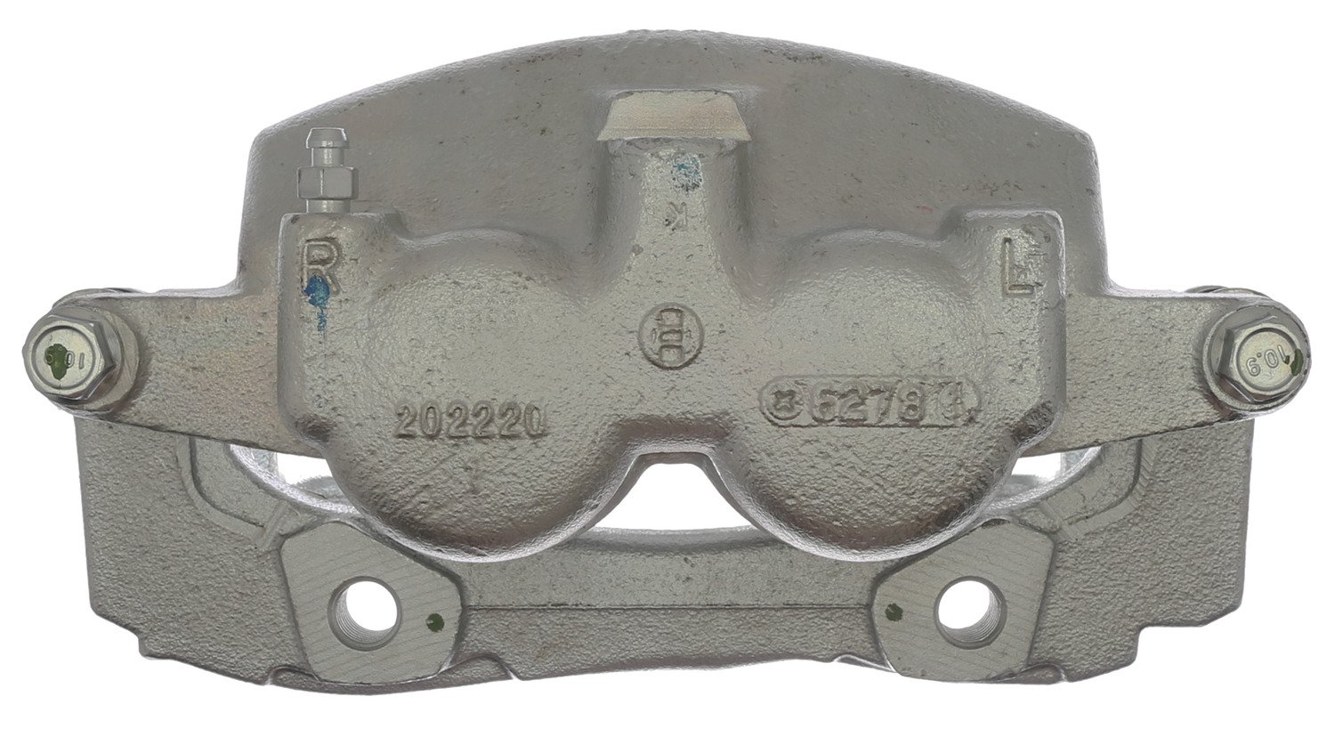 ACDelco 18FR2013C Professional Front Passenger Side Disc Brake Caliper Assembly without Pads (Friction Ready Coated), Remanufactured