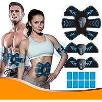 ALDOM Electroestimulador Muscular Abdominales, Electroestimulacion Abdominales EMS Estimulador Entrenador Muscular…