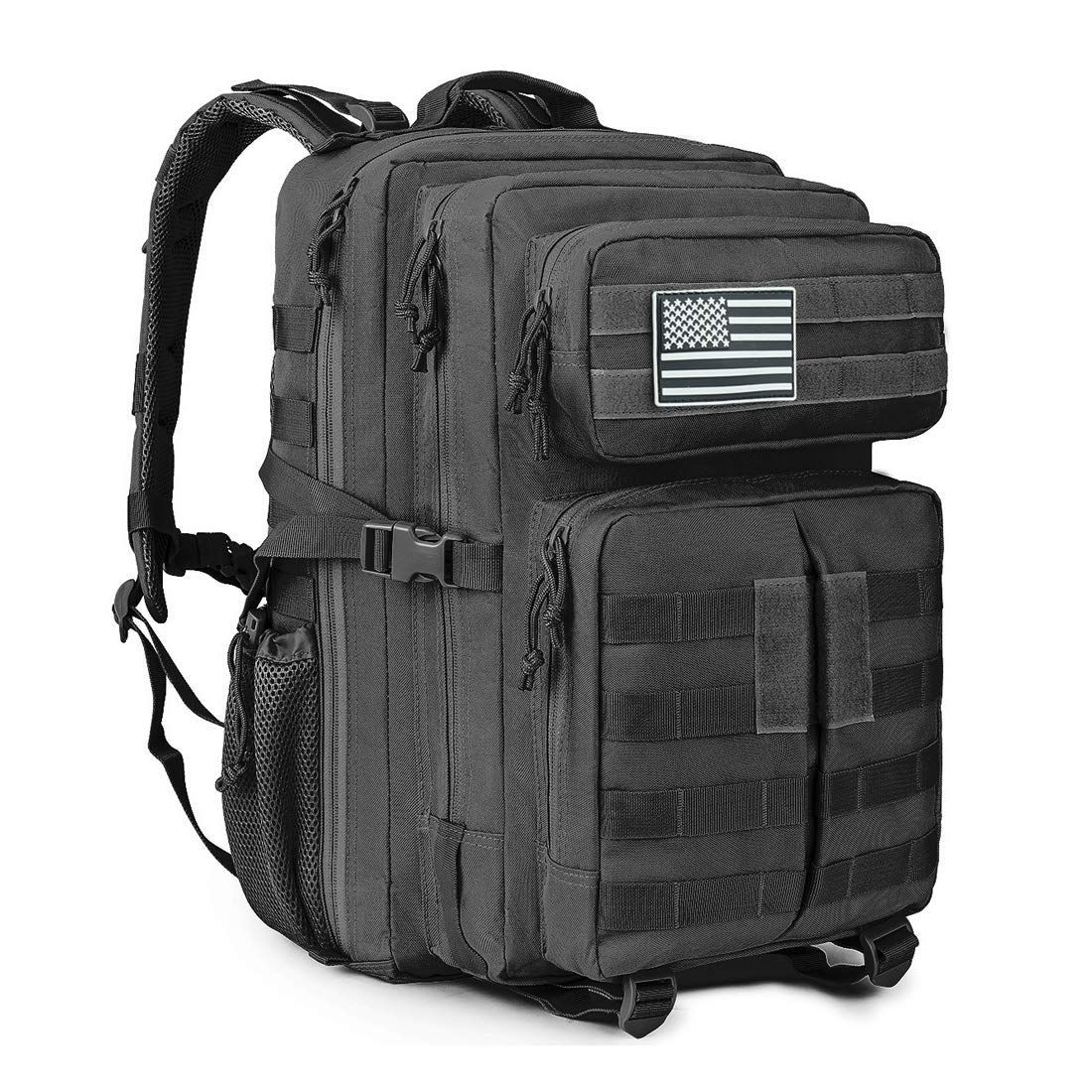 MEWAY Military Tactical Backpack (Black)