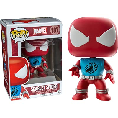 Funko Pop Marvel: Scarlet Spider Collectible Figure, Multicolor: Toys & Games