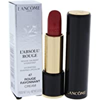 Lancome LAbsolu Rouge Hydrating Shaping Lipcolor - 47 Rouge Rayonnant - Cream for Women - 0.12 oz