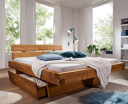 Main Möbel Melissa - Cama con cajones (160 x 200 cm, Madera ...