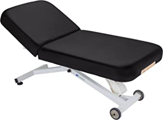 """EARTHLITE Electric Lift Massage Table ELLORA - Most Popular Spa Lift Hydraulic Massage Table, Flat/Tilt/Salon Top, Comfortable & Reliable (28"""", 30"""", 32"""" x 73"""") - Made in USA"""