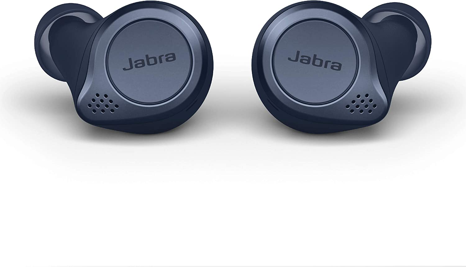 Amazon Com Jabra Elite Active 75t True Wireless Bluetooth Earbuds Navy Wireless Earbuds For Running And Sport Charging Case Included 4th Generation 28 Hour Battery Sport Earbuds