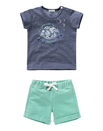 fd14324db United Colors of Benetton Baby-Boys Multi T-shirt and Short Set ...