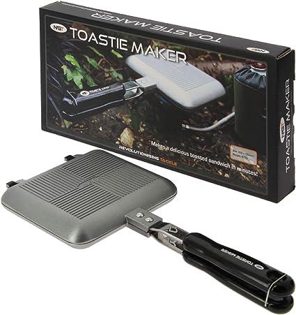 Toastie Maker Sandwich Tostadora para cocina de gas: Amazon ...