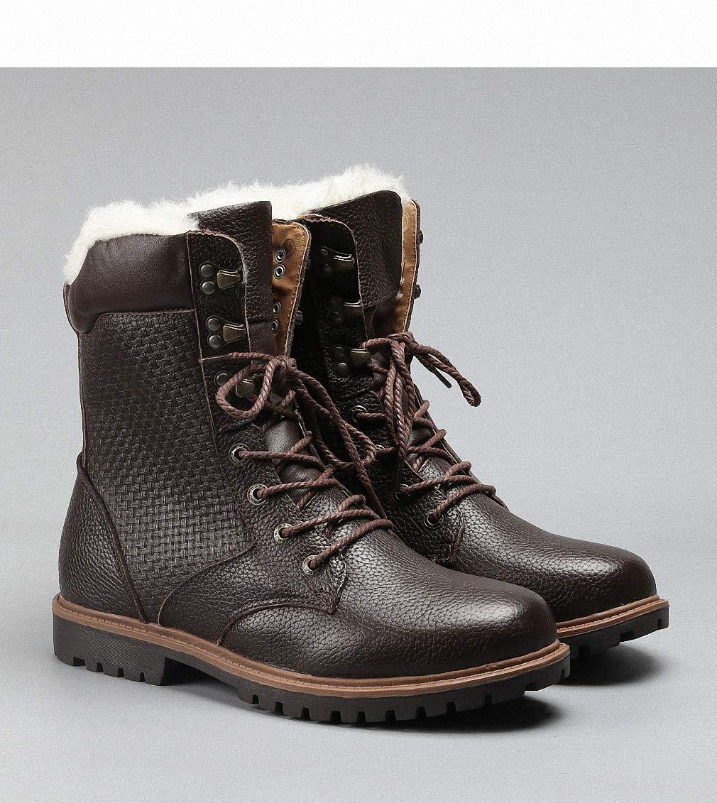 6e9b5738572fa Amazon.com: Tebapi Mens Backpacking Boots Natural Wool Men Winter ...