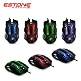 Mouse ,ZYooh Optical 6D USB Wired Gaming Game Mouse