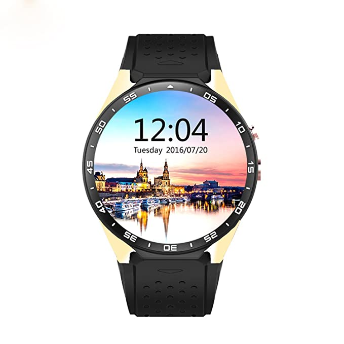 luckynv kw88 Smart Watch mtk6580 Sistema š ¹ tzung WiFi GPRS ...