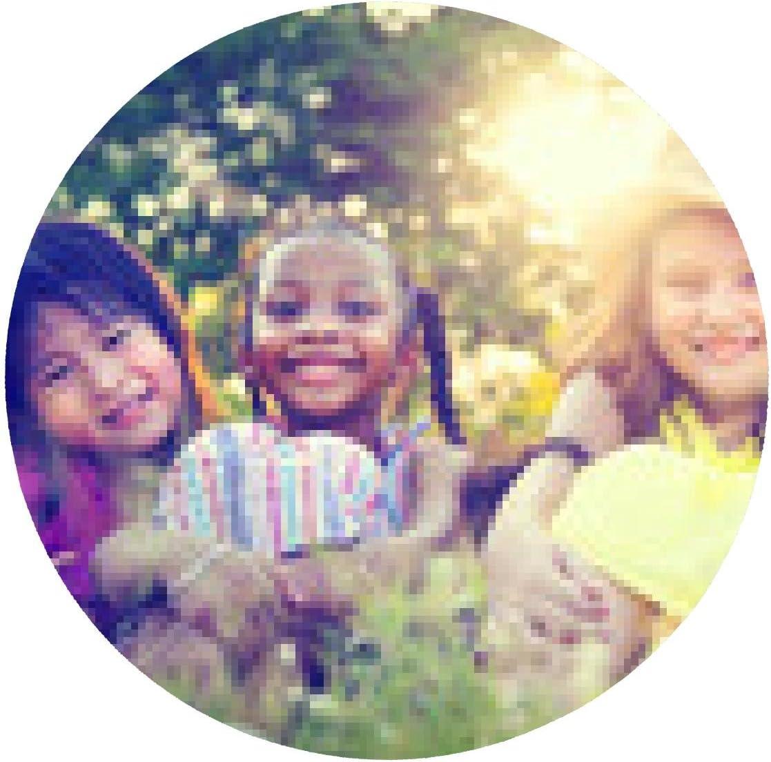 alfombrilla de ratón Grupo de niñas sonriente Conceptos ...