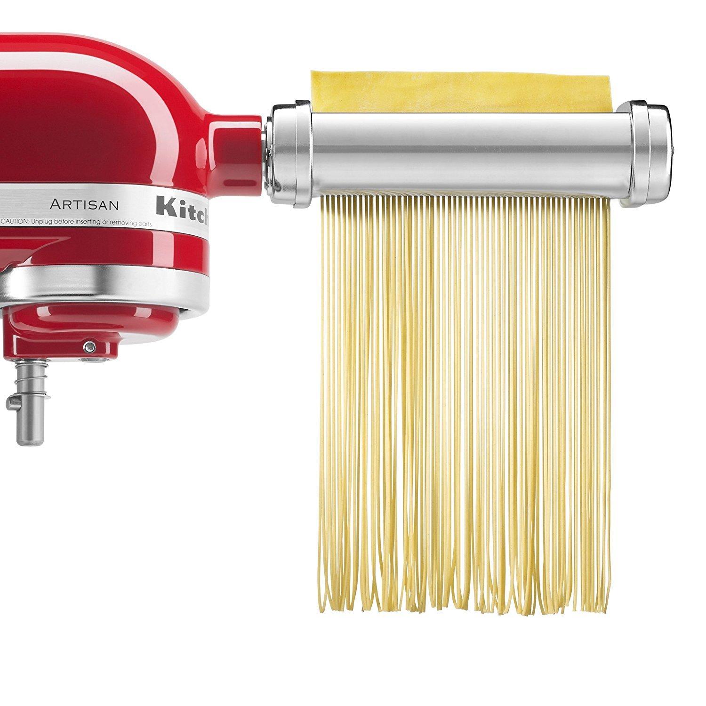 3-Piece Pasta Roller & Cutter Attachment Set KSMPRA by KichenAid (4)