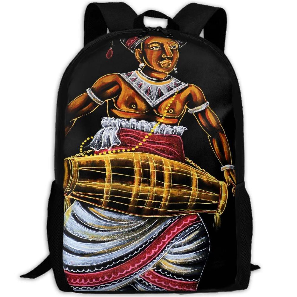 OIlXKV Culture Religion Art Print Custom Casual School Bag Backpack Multipurpose Travel Daypack For Adult