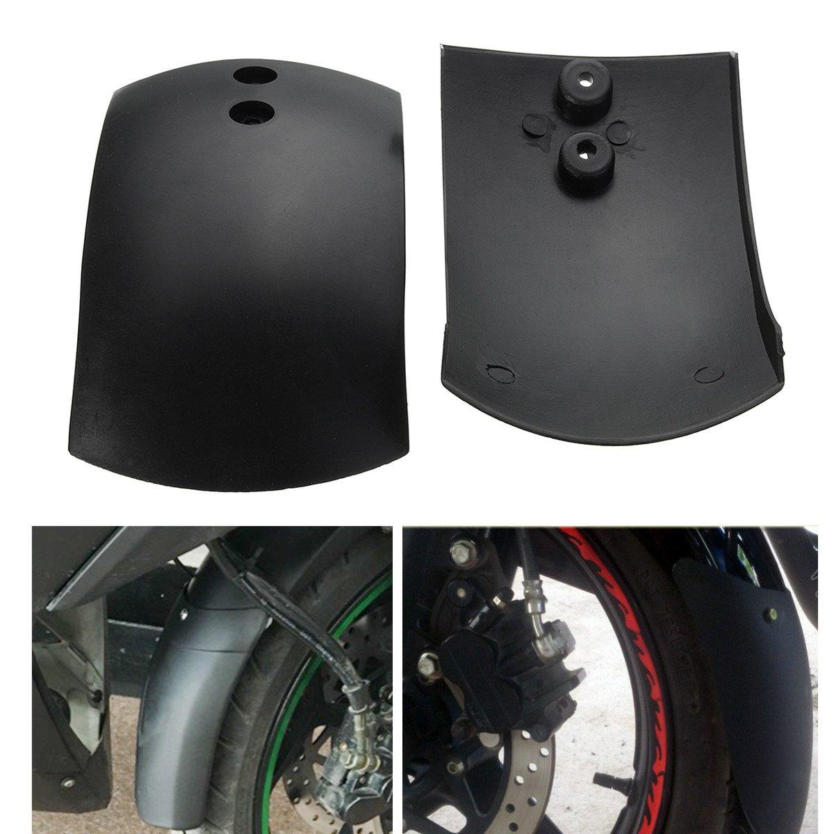 GOZAR Pare-Boue Avant Arriè re Protè ge-Ailes pour 43Cc 47Cc 49Cc Mini Quad Dirt Bike VTT