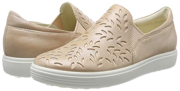 Ecco Soft 7 Ladies, Zapatillas Sin Cordones para Mujer, Gris (Magnet), 35 EU