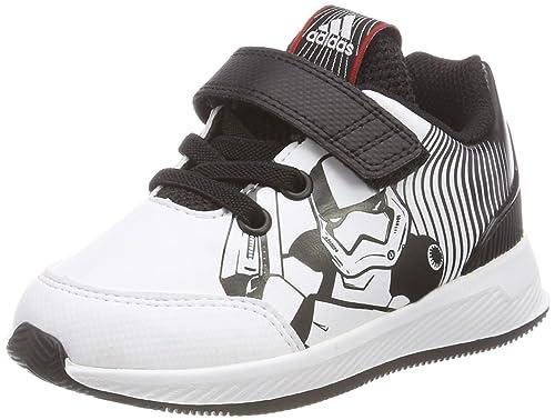 best service 0ccbd 620ff adidas RapidaRun Starwars I, Zapatillas de Gimnasia Unisex para Niños,  Negro (Core Black FTWR White Scarlet), 27 EU  Amazon.es  Zapatos y  complementos