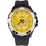 Casio Unisex Analogue Watch with golden Dial Analogue Display - MTD-1082-9