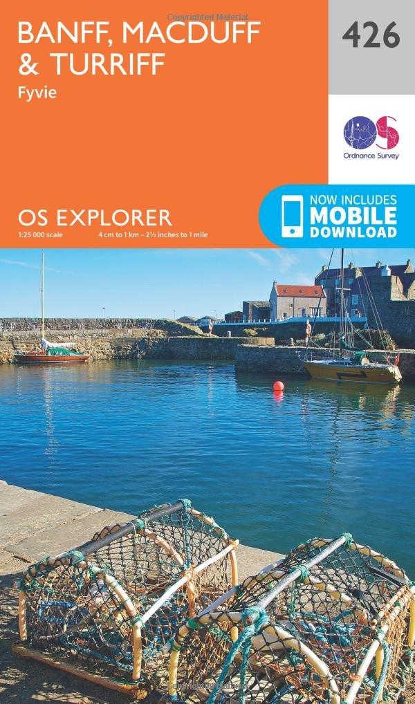 426 OS Explorer Active Map OS Explorer Map Active Macduff and Turriff Banff