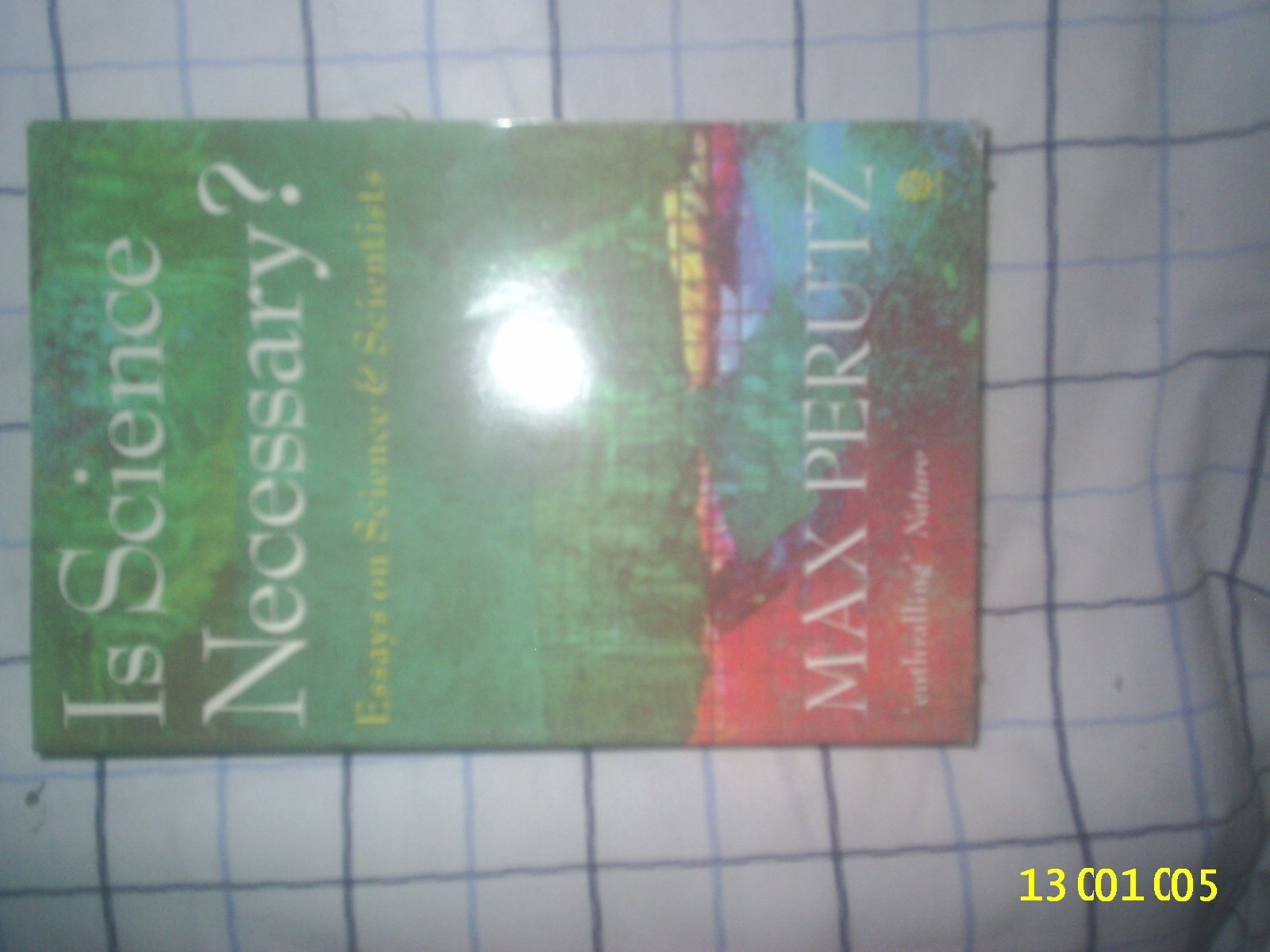 is science necessary essays on science and scientists max perutz  is science necessary essays on science and scientists paperback  april