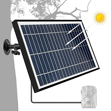 Amazon.com: ARTITAN Panel Solar 12V 5W Cargador para Trail ...