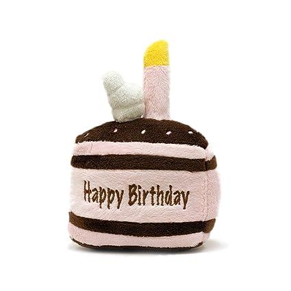FouFou Dog New Birthday Cake Squeak Toy