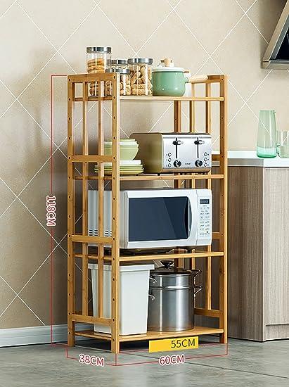 Scaffale per la cucina a muro per la cucina a microonde Mensola per ...