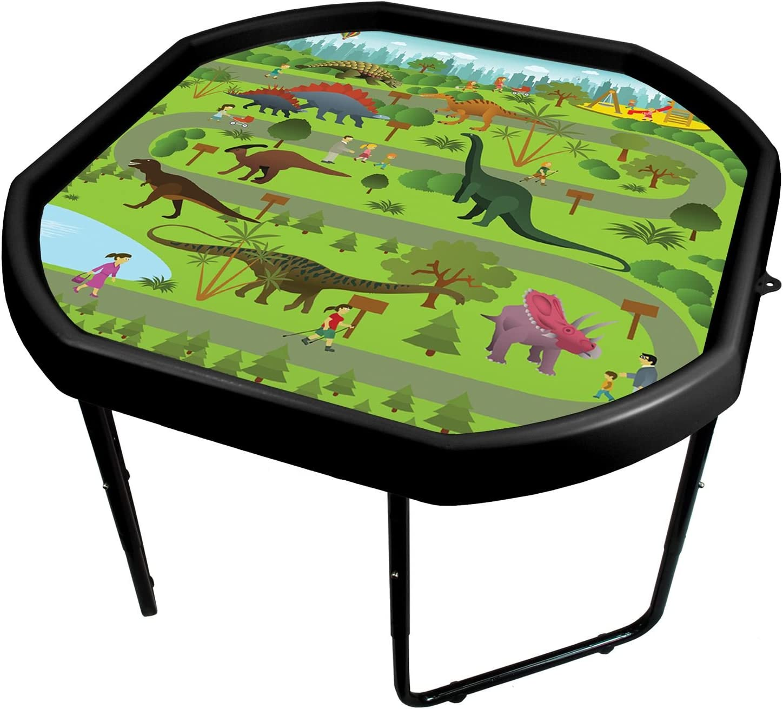 Fun /& Educational ABC 123 Vinyl Tray Insert for Plastic Mixing Tray Educational and Fun Creative Play Learning Mat. simpa Childrens Tuff Spot Play Tray Mat Insert