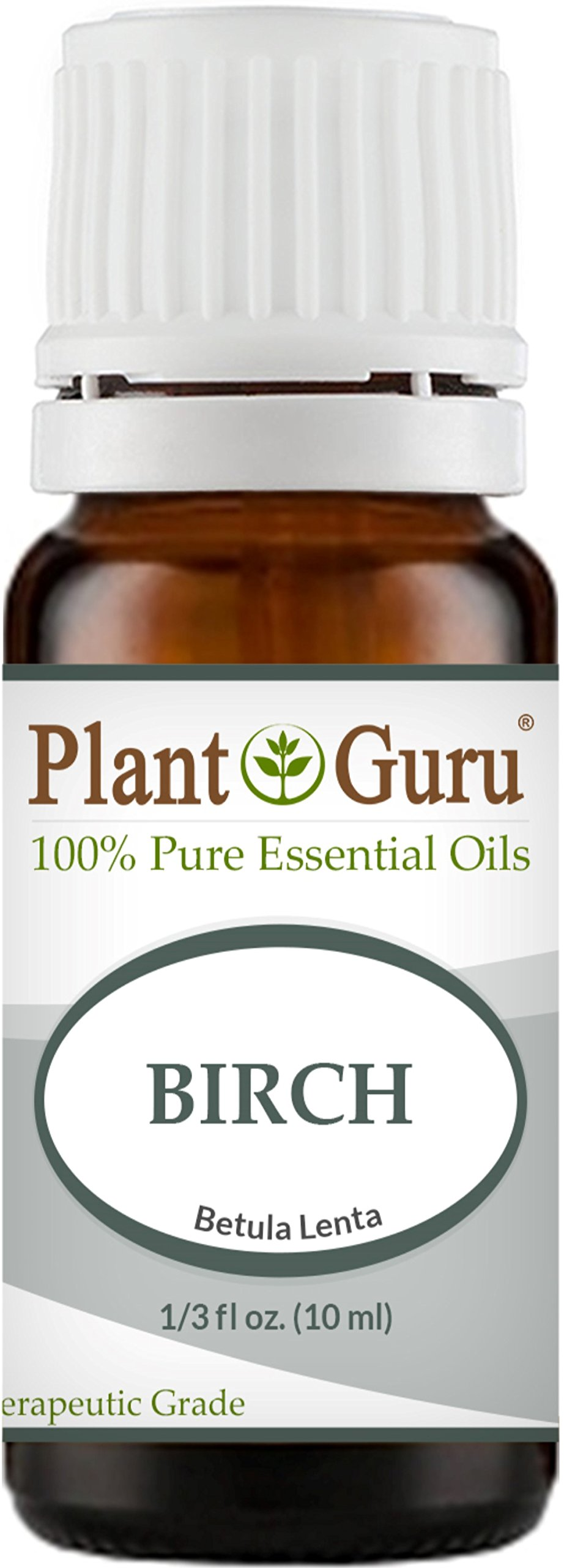 Birch (Sweet) Essential Oil 10 ml. 100% Pure Undiluted Therapeutic Grade.