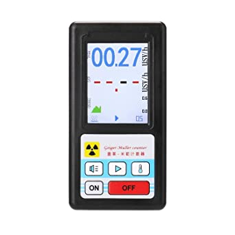 Geiger Counter Nuclear Radiation Detector Personal Dosimeter Marble Tester DP