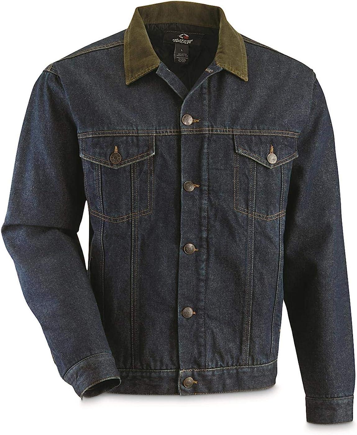 Simply Be Western Style Denim Jacket stonewash