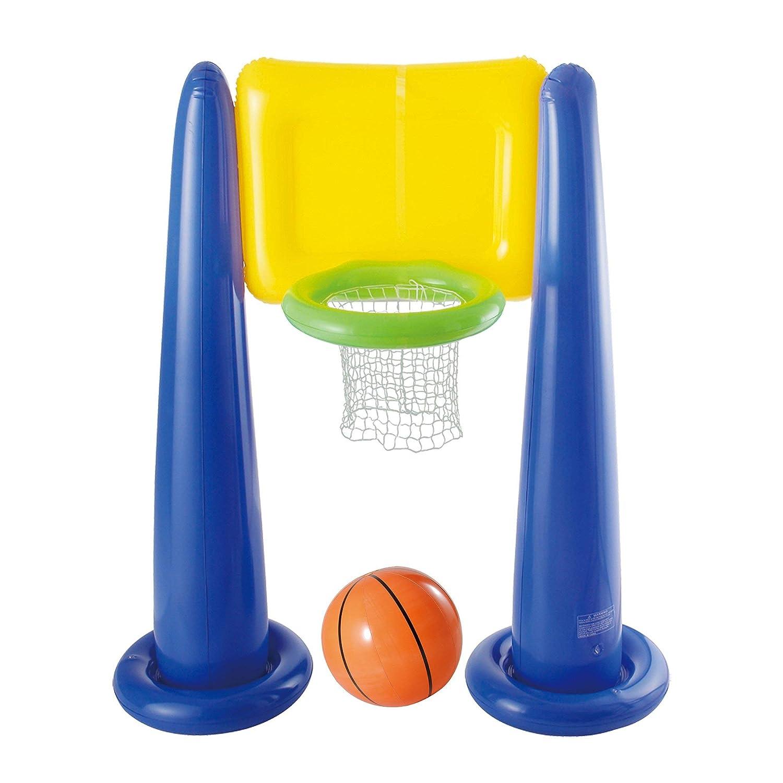 Big PlayスポーツジャンボインフレータブルプールBasketball Hoop Set w /ボール| kf0062000167 B01GZCE2OQ