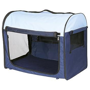 Caseta para perros y gatos Desmontable TRIXIE Azul oscuro/Beige: Amazon.es: Productos para mascotas