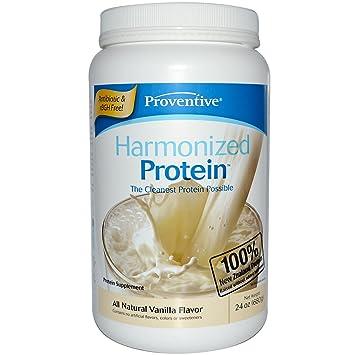 Amazon.com: armonizado proteína, todo Natural de vainilla ...
