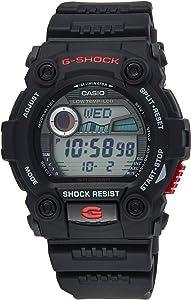 Casio Men's G7900-1 G-Shock Rescue Digital Sport Black Resin Watch