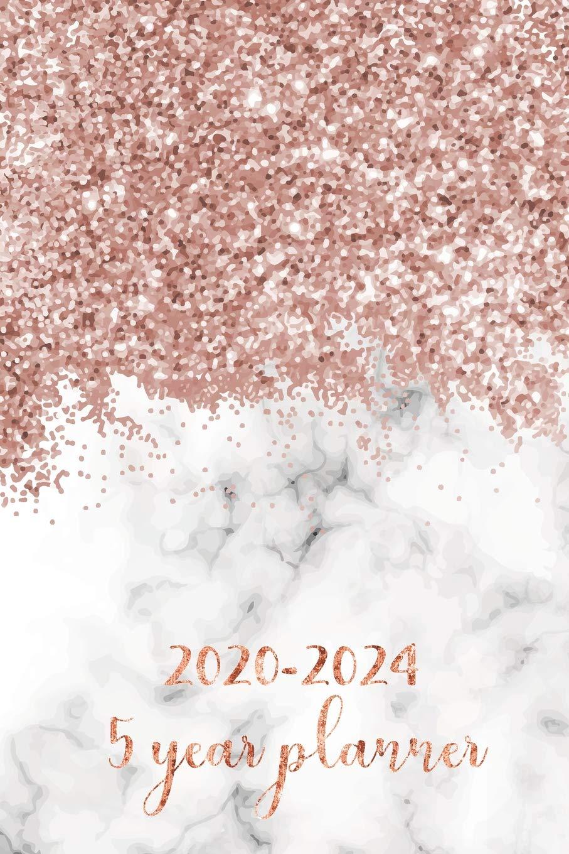5 Year Planner 2020-2024: Pocket Monthly Schedule Organizer ...