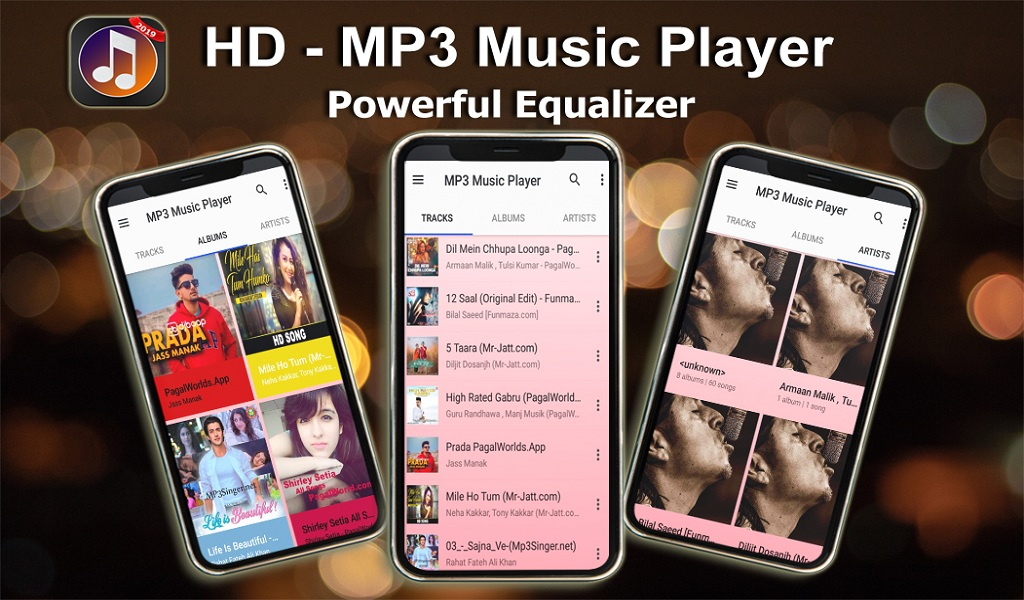 Amazon com: MP3 Music Player - Audio Player: Appstore for Android