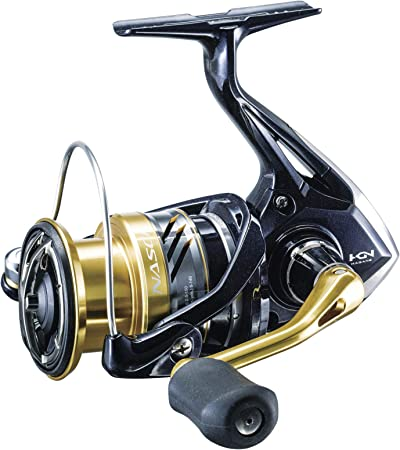 Amazon.com : SHIMANO American Corporation NASCI 4000XGFB NAS4000XGFB Spinning Reel GR: 6.2:1/Box : Sports & Outdoors