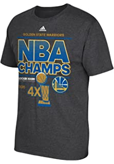 adidas Golden State Warriors 2015 NBA Finals Champs Official Locker Room  Grey T-shirt d295970ab