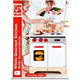 Hape White Gourmet Kitchen Toy, Red
